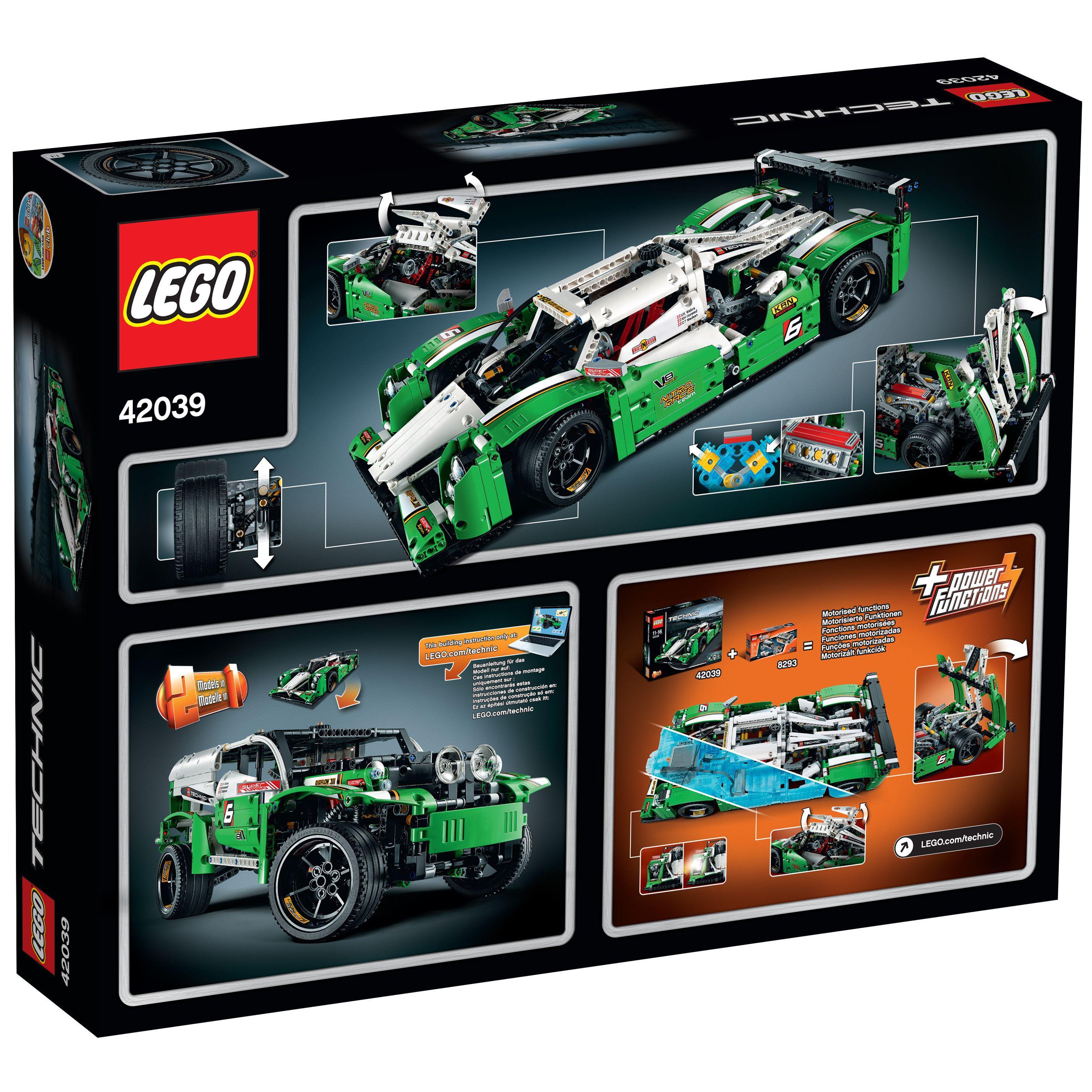 Voiture Vente 42039 La 24h Achat De Lego® Course Technic Des qVSzUpMG