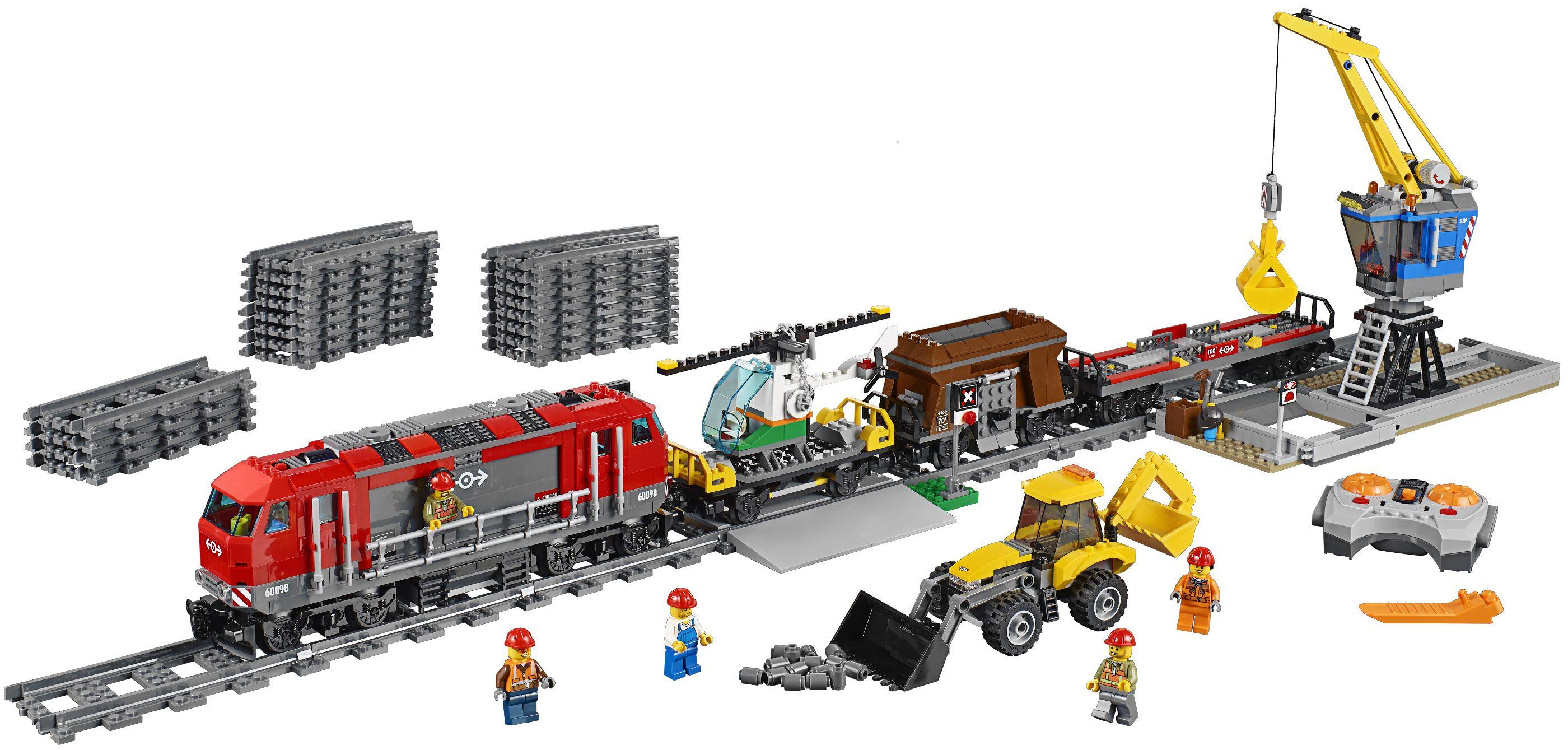 lego city 60098 le train de marchandises rouge achat. Black Bedroom Furniture Sets. Home Design Ideas