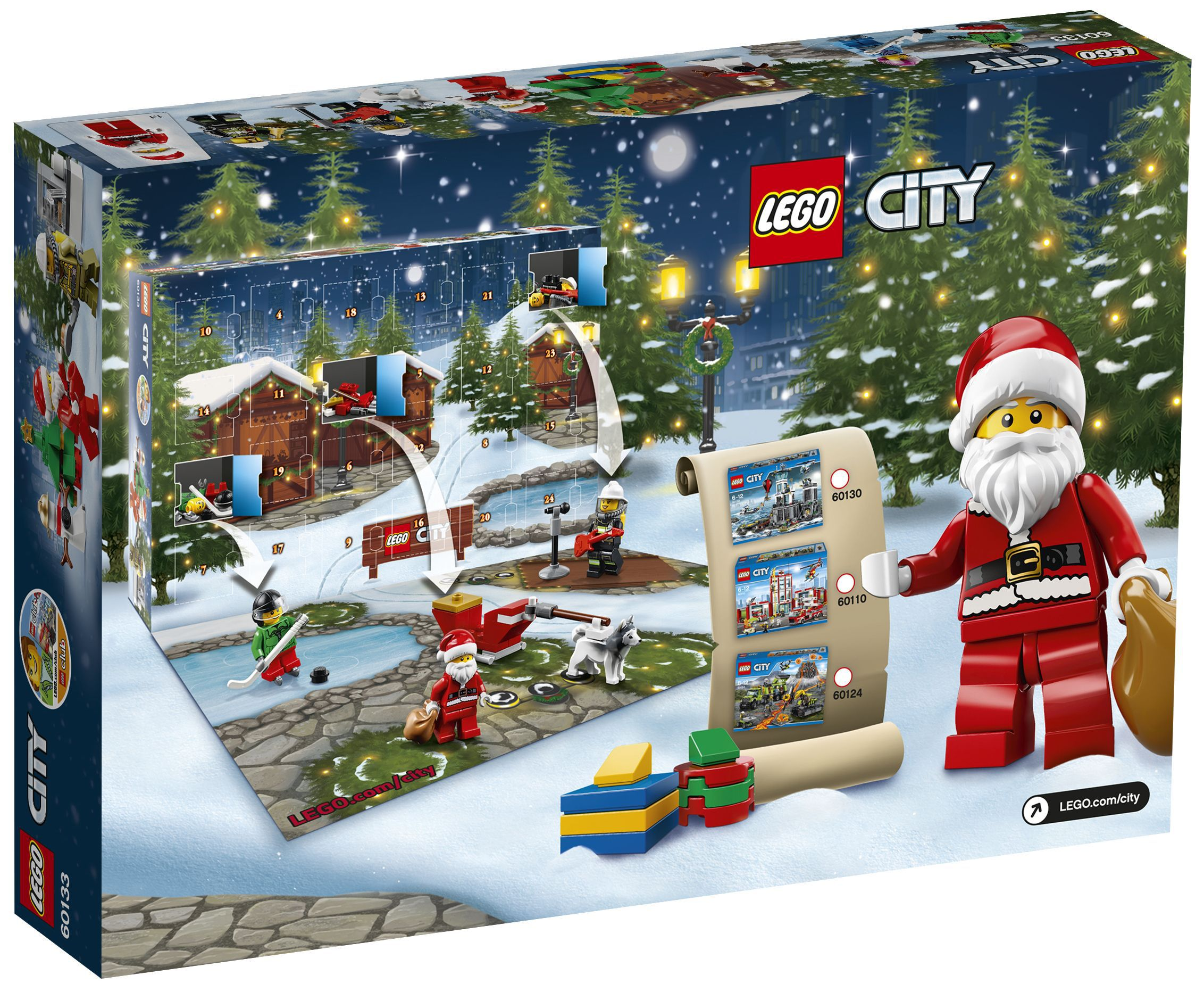 lego city 60133 calendrier de l avent lego city achat. Black Bedroom Furniture Sets. Home Design Ideas