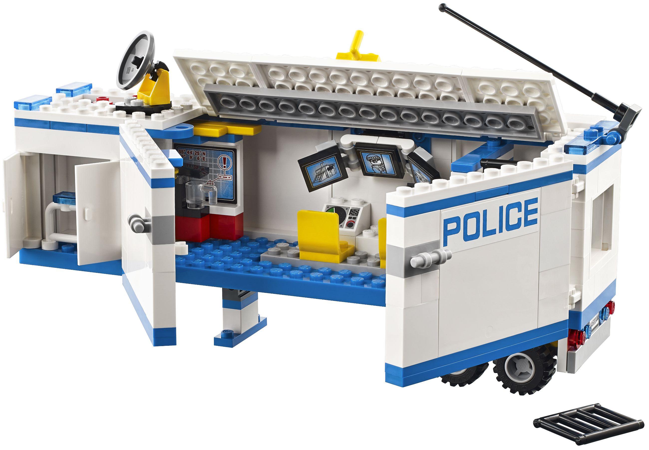 Lego city 60044 l 39 unit de police mobile achat vente - Lego city camion police ...