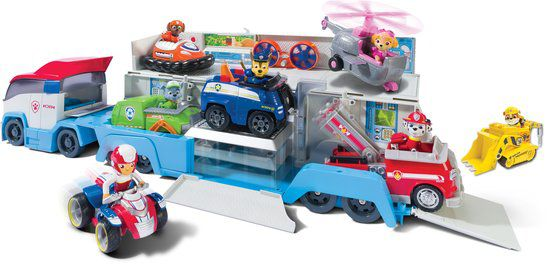 pat patrouille camion paw patroller paw patrol achat. Black Bedroom Furniture Sets. Home Design Ideas
