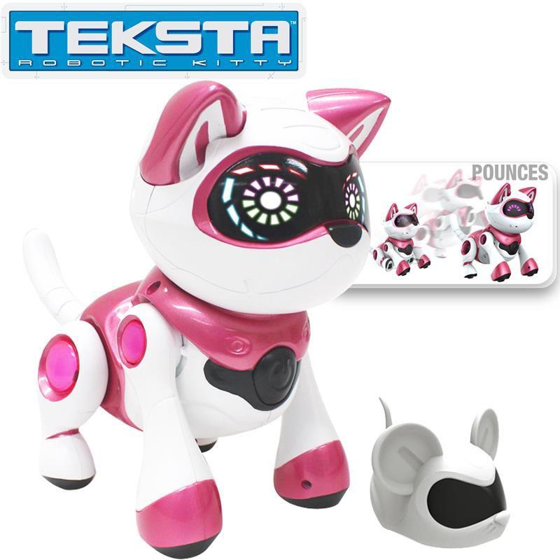 splashtoys robot chat animal int ractif teksta kitty achat vente robot animal anim. Black Bedroom Furniture Sets. Home Design Ideas
