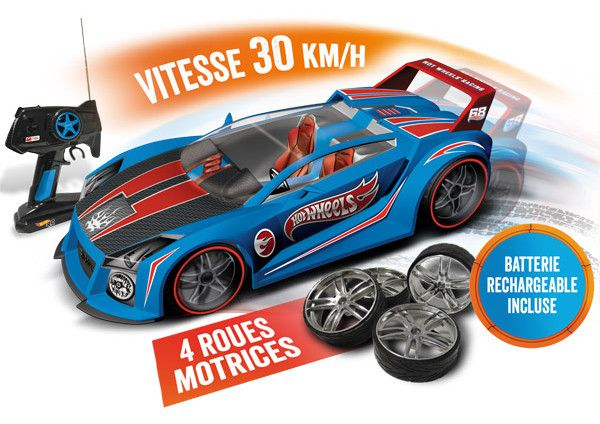 mondo motors voiture t l command e hot wheels quick n sik 1 10 achat vente voiture. Black Bedroom Furniture Sets. Home Design Ideas