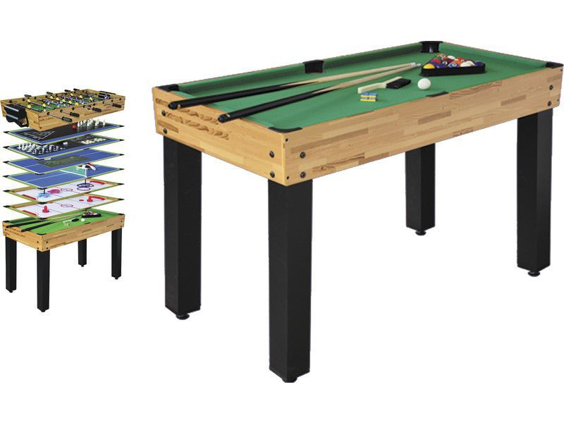 Table multi jeux 12 en 1 billard baby foot ping pong air hockey etc de - Table multi jeux enfant ...