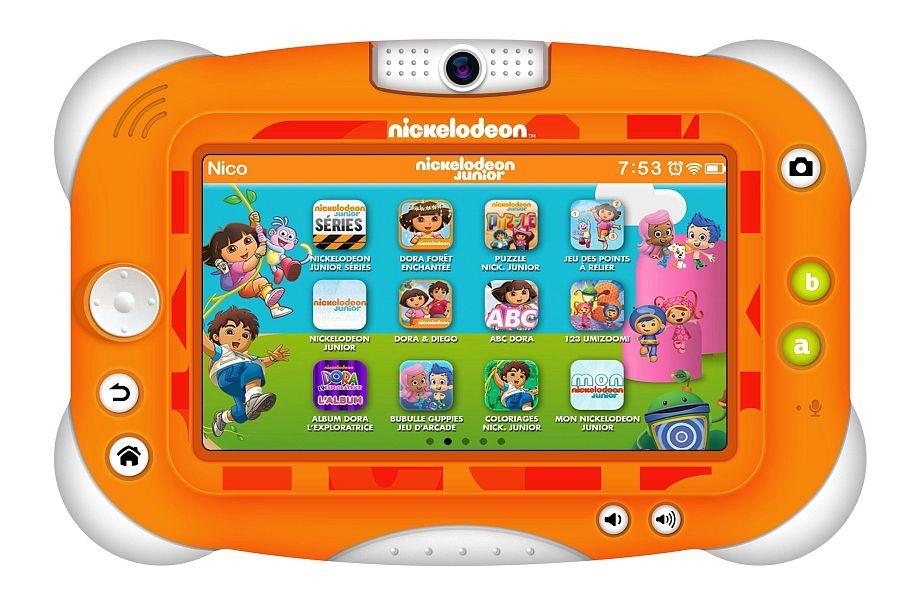 videojet tablette enfant nickelodeon avec 15 vid os pat 39 patrouille achat vente tablette. Black Bedroom Furniture Sets. Home Design Ideas