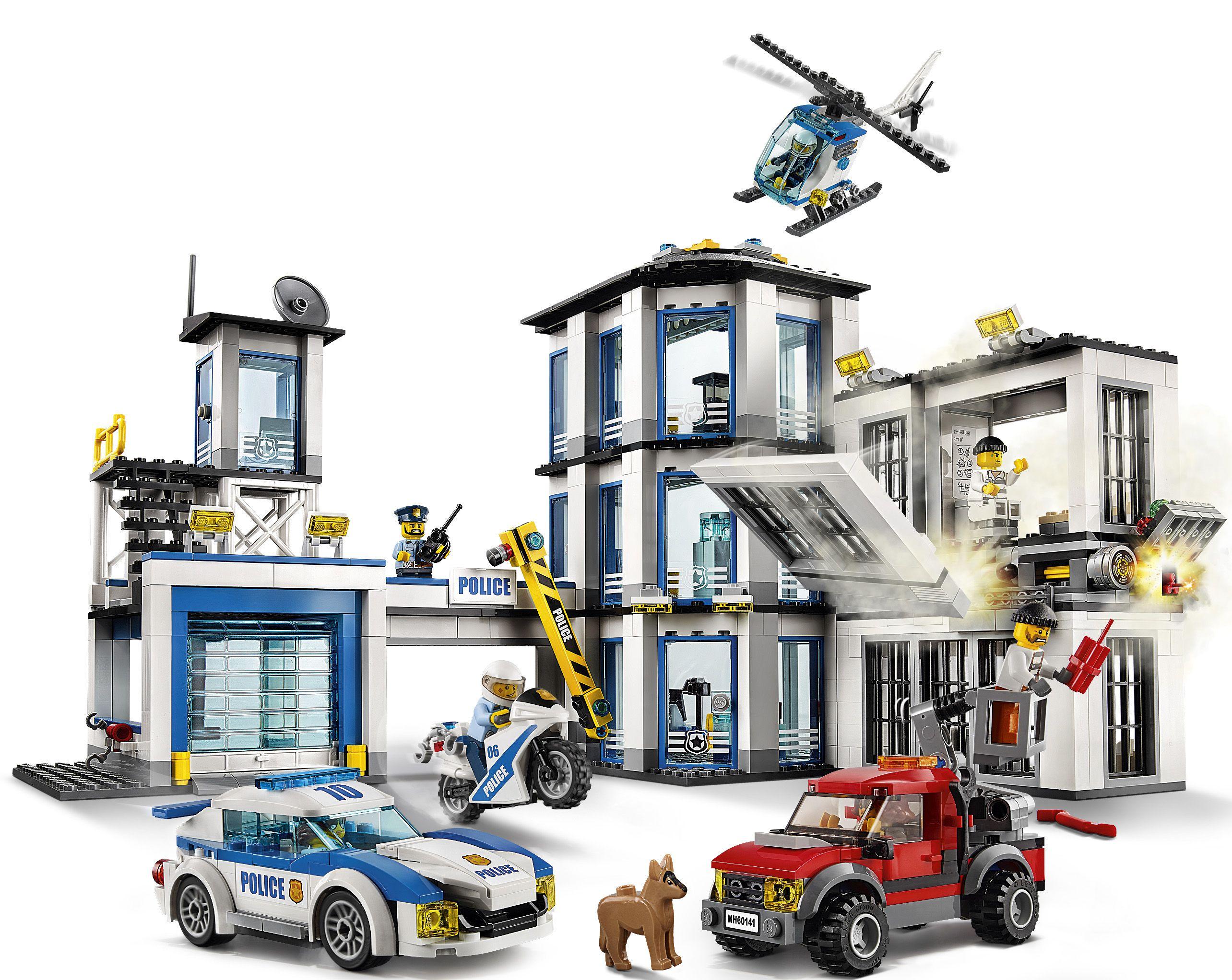 lego city 60141 le commissariat de police achat vente. Black Bedroom Furniture Sets. Home Design Ideas