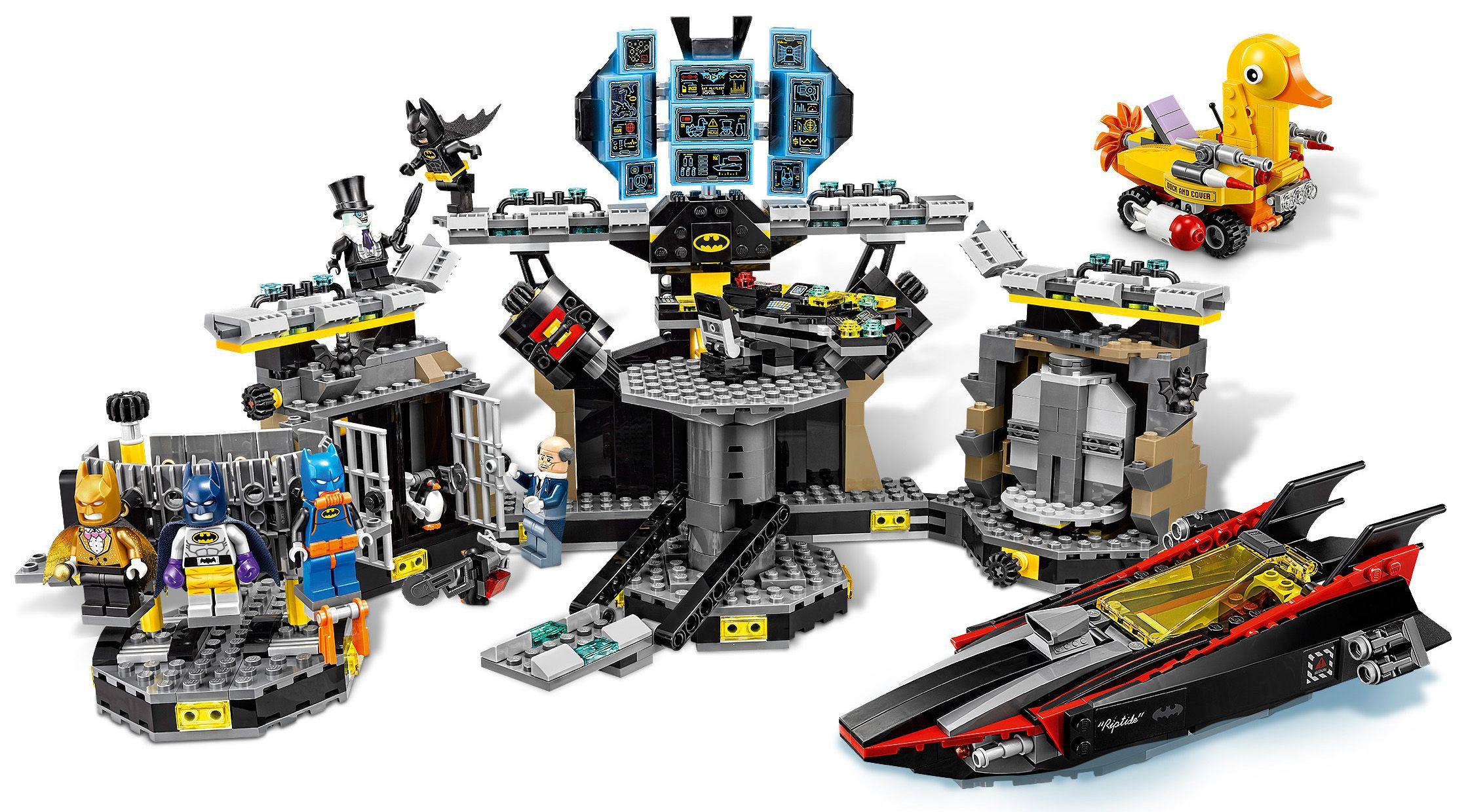Lego Batman LE PINGOUIN blanc col en fourrure figurine à partir de 70909