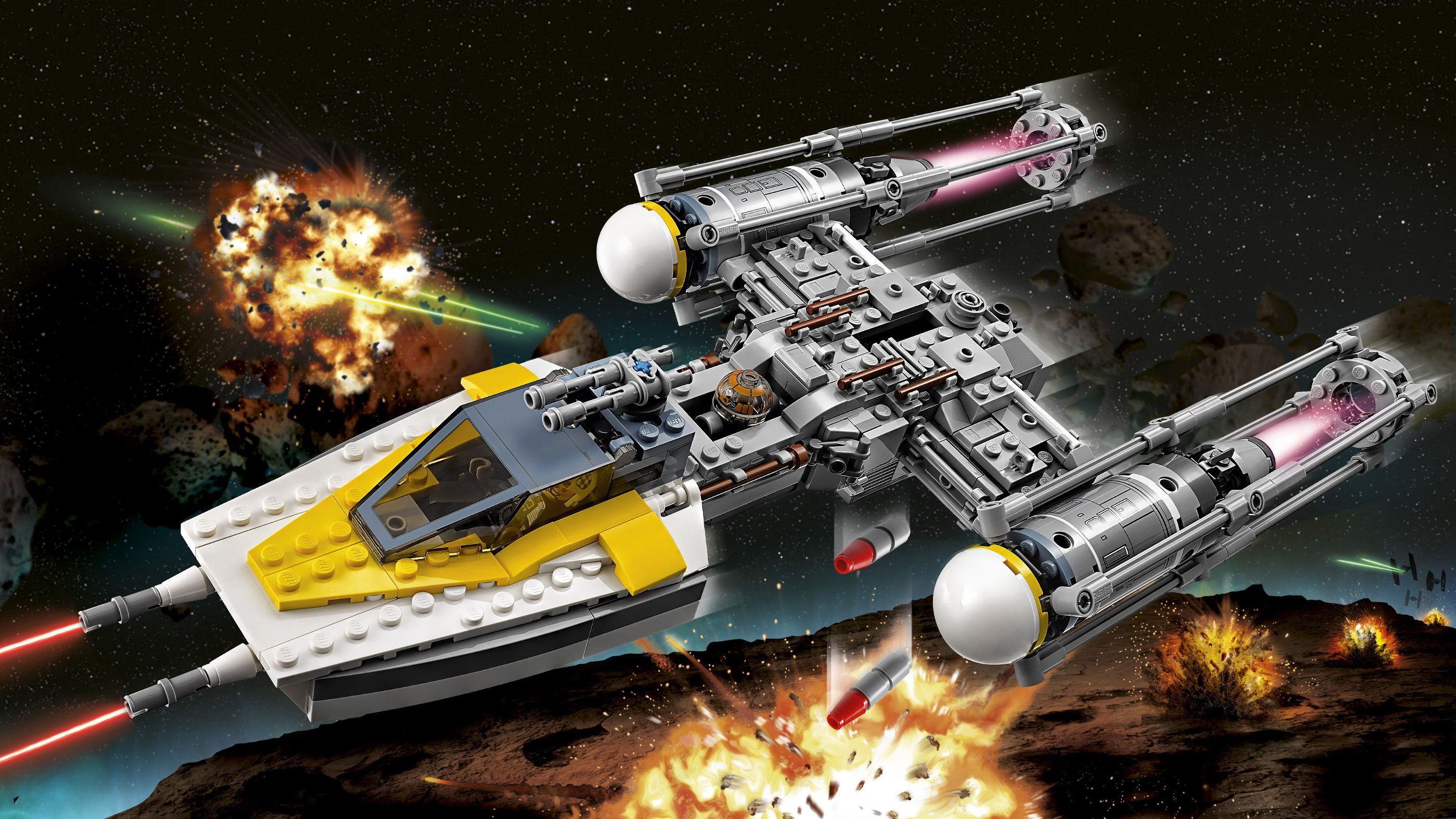 LEGO Star Wars Rogue One Y-Wing Starfighter