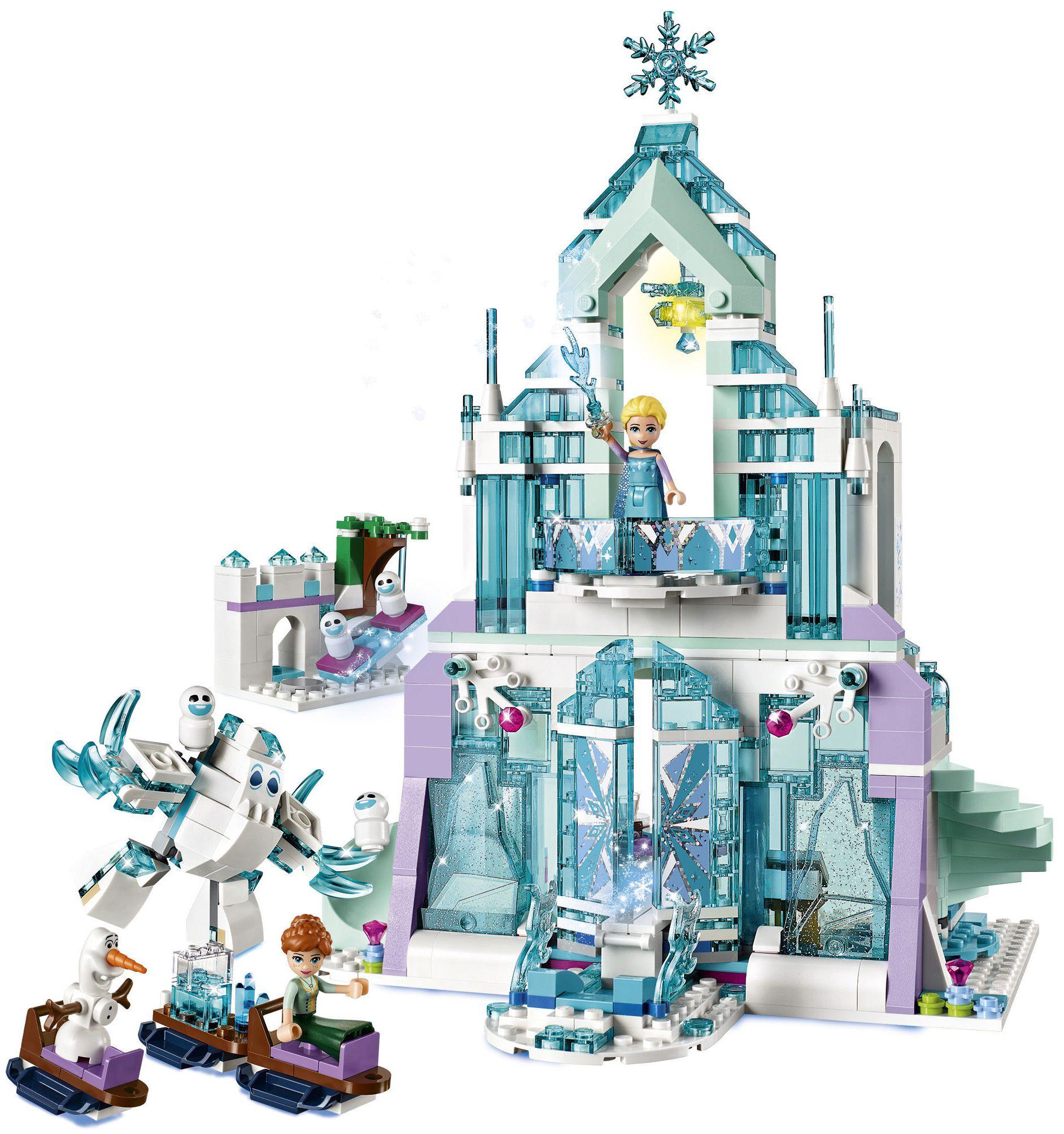 Lego la reine des neiges 41148 le palais des glaces - Chateau de la reine des neige ...