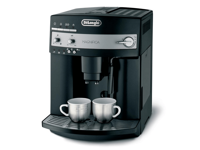 delonghi machine expresso automatique avec broyeur magnifica esam 3000 b 15 bar noir. Black Bedroom Furniture Sets. Home Design Ideas