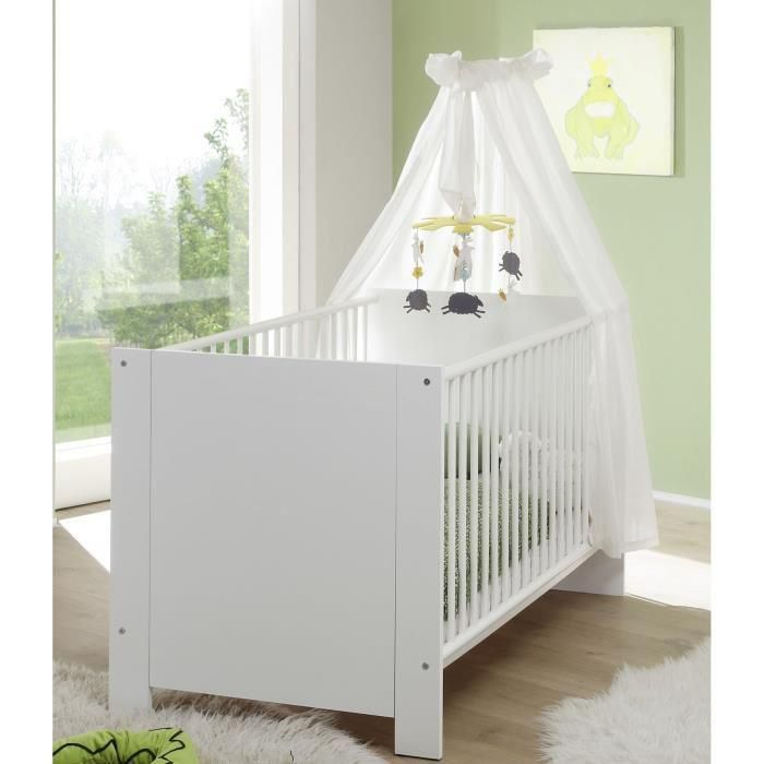 Olivia chambre b b compl te lit armoire commode for Chambre bebe lit et commode
