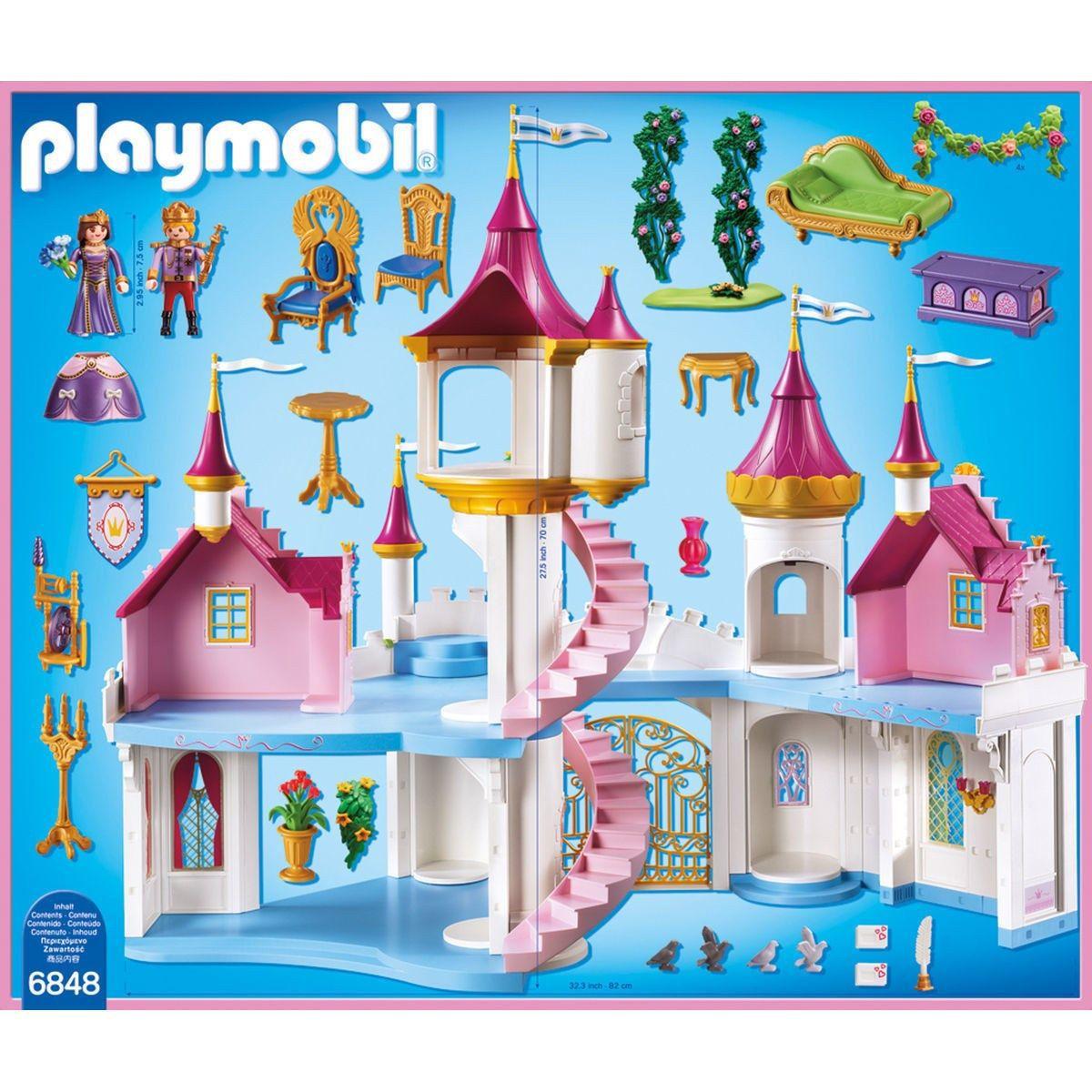 PLAYMOBIL 6848 Grand Château de Princesse - Achat / Vente univers ...