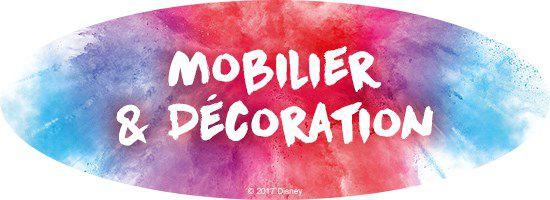 mobilier et décorations Disney Princesses