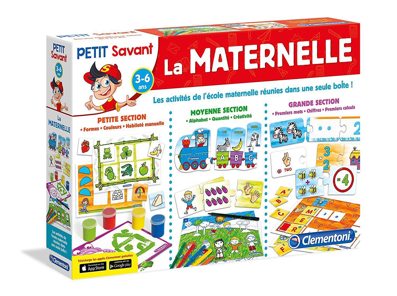 Bien-aimé CLEMENTONI La Maternelle Kit de 10 Jeux - Achat / Vente jeu d  UB71