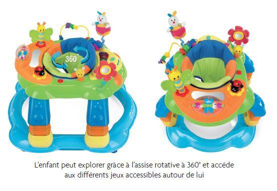 BREVI Trotteur 3-en-1 GIOCAGIRO Multicolore