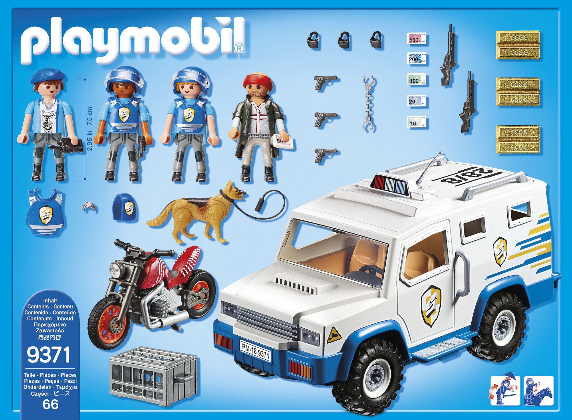 Playmobil Fourgon Blindé avec Convoyeurs de Fonds 9371