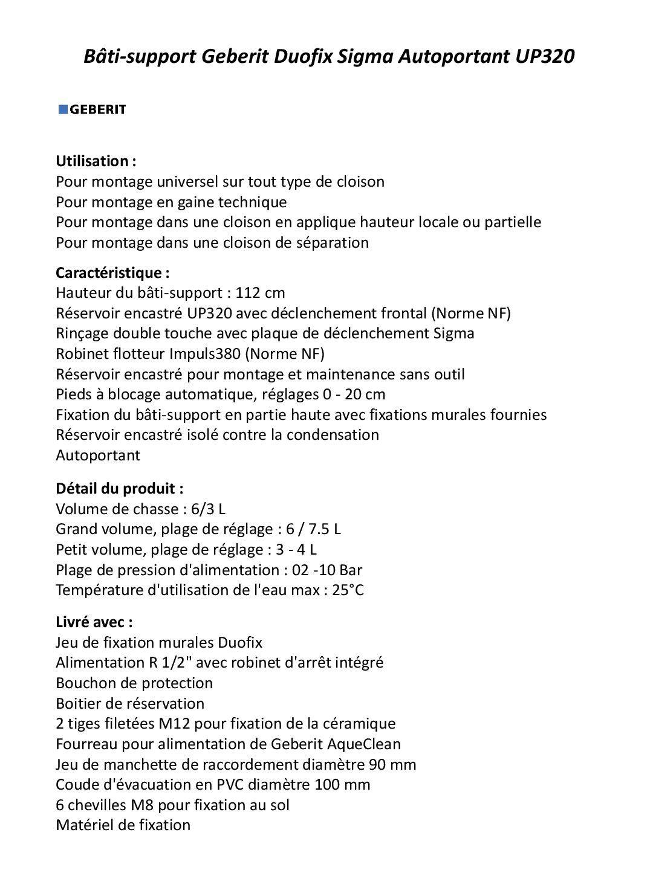 Wc Suspendu 4 Pieds geberit pack wc suspendu complet avec plaque chromée