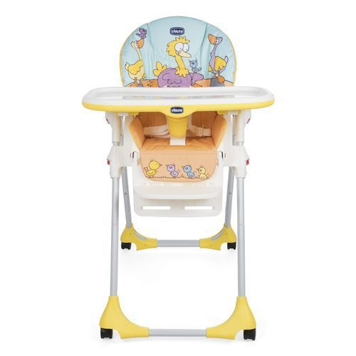 Chicco Chaise Haute Polly Easy 4 Roues Marine Marine Achat Vente