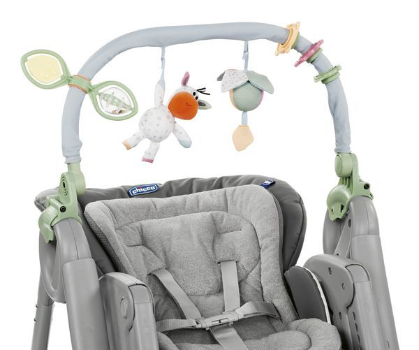 Chicco Chaise Haute Polly Magic Relax 0 3 Ans Dove Grey Dove Grey
