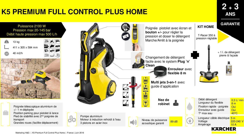 kÄrcher nettoyeur haute pression k5 premium full control plus home