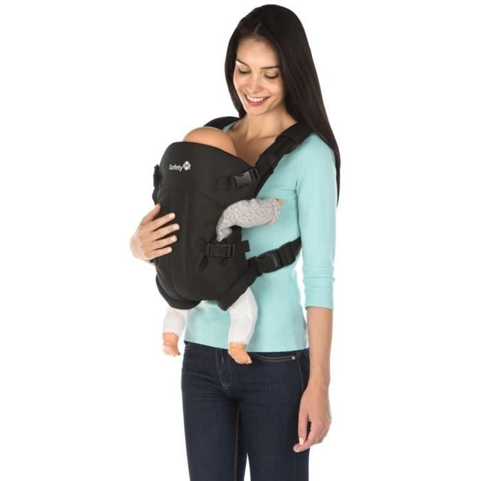 Muni de sangles avec renfort molletonné sur les épaules, le porte-bébé est  également confortable pour vous à porter. Installation facile de bébé grâce  au ... df20ebfe5cd