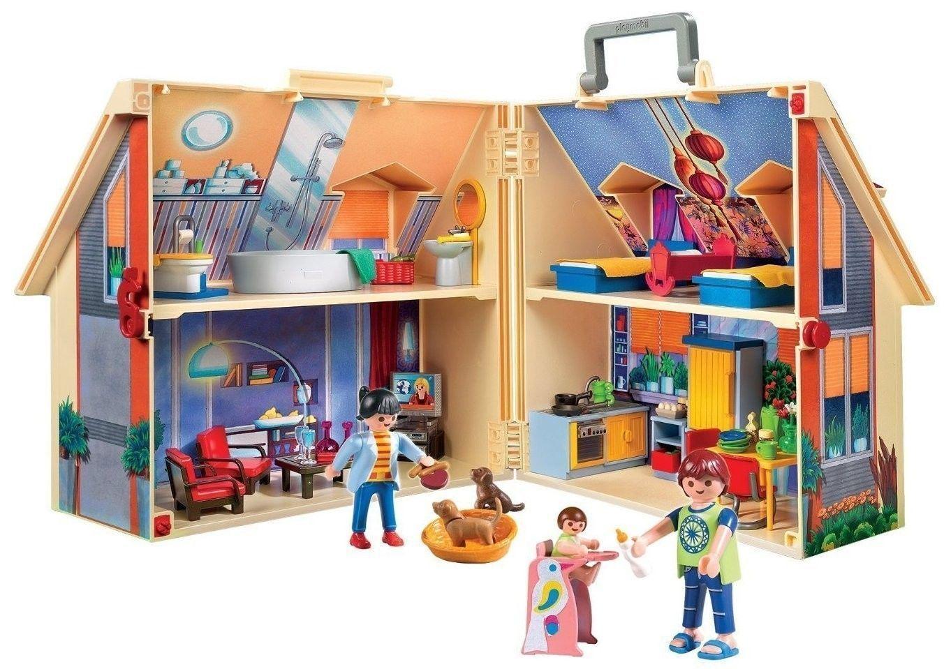 Playmobil 5167 la maison transportable achat vente Maison transportable