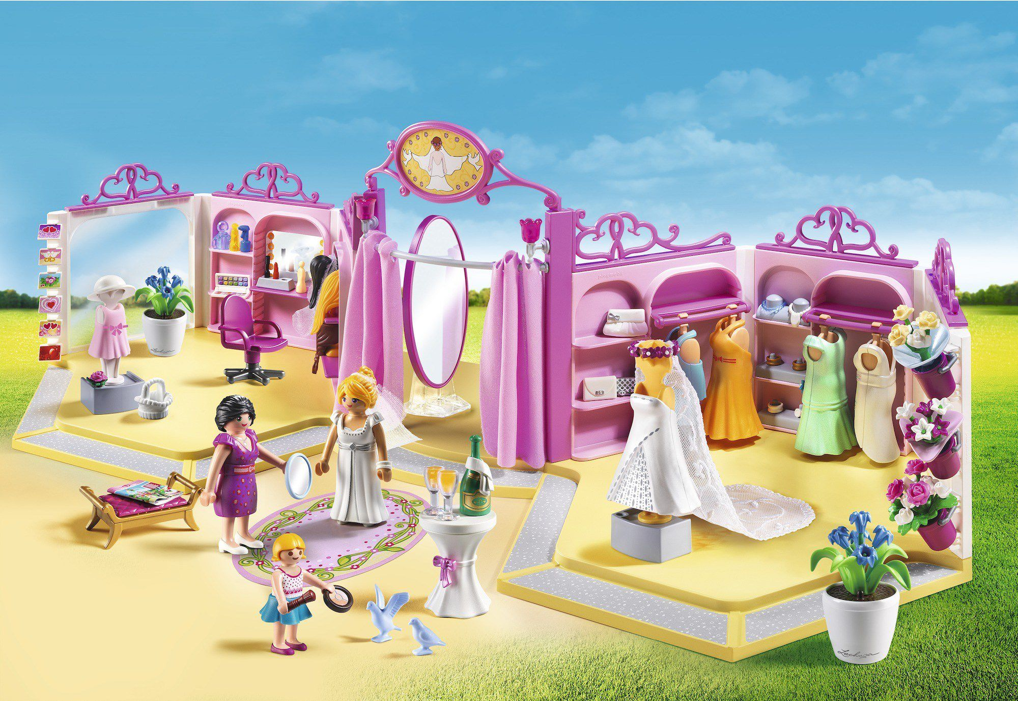 PLAYMOBIL 9226 - City Life - Boutique Robes
