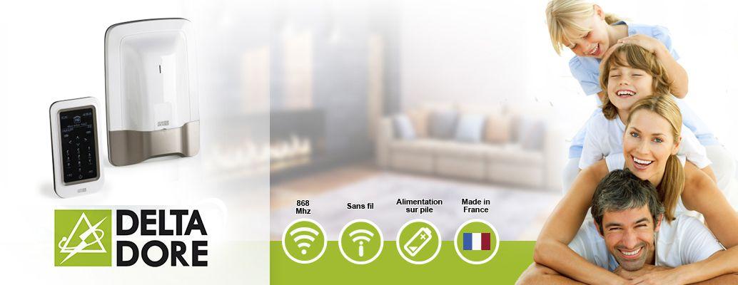 tyxal pack alarme maison sans fil kit 3 rtc achat vente kit alarme cdiscount. Black Bedroom Furniture Sets. Home Design Ideas