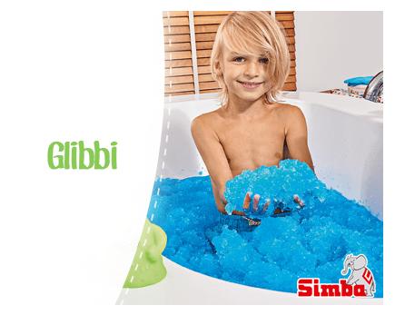 Glibbi Bain Enfant Jouet Gluant Slime Mousse