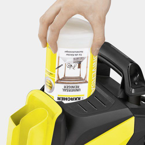 Plug and clean Karcher