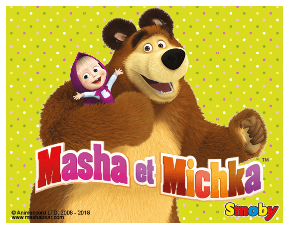 Masha et Michka Ours Petite Fille