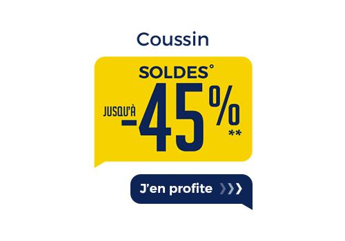 SOLDES COUSSINS