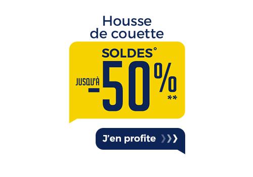 SOLDES HOUSSE DE COUETTE
