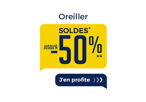 SOLDES OREILLER
