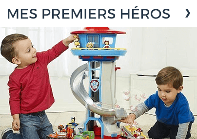 Ses premiers héros