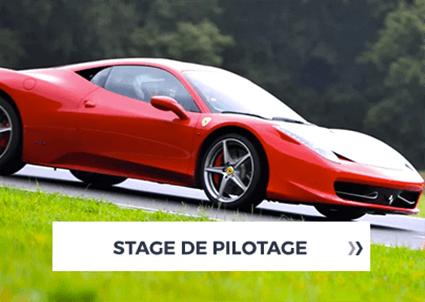 Activités stage pilotage