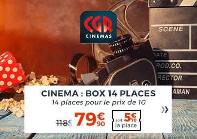 Box 14 Places CGR cinéma