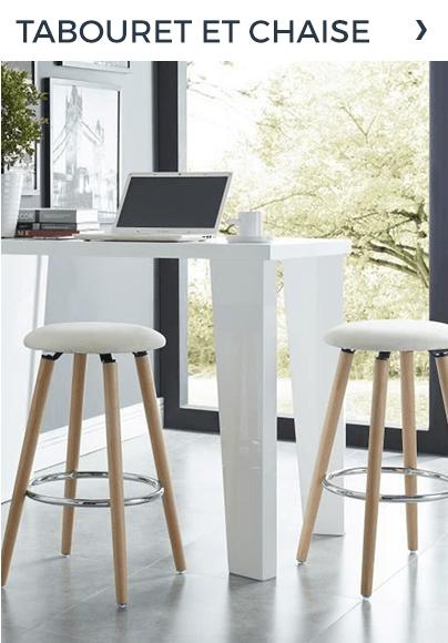 Tabouret et chaise
