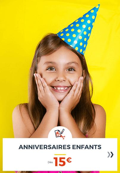 activites anniversaires enfant