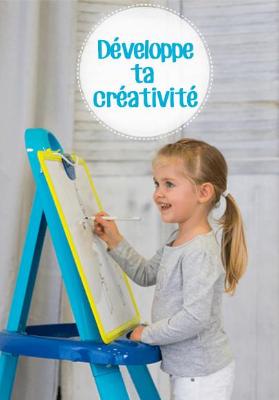 Développe ta créativité
