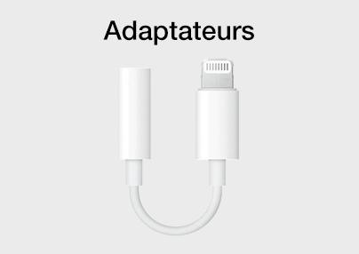Adaptateurs iPhone