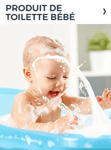 Produit de toilette bébé