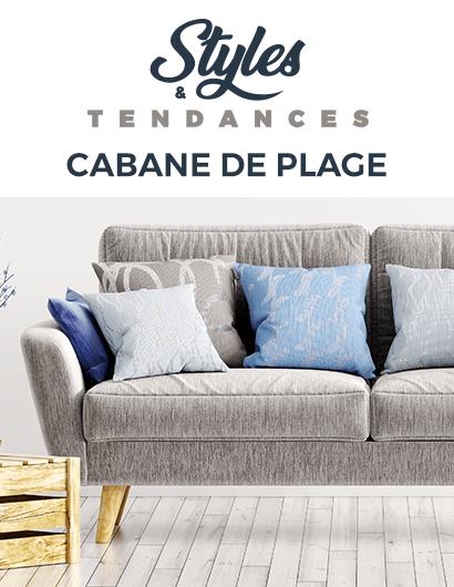 TENDANCE CABANE DE PLAGE