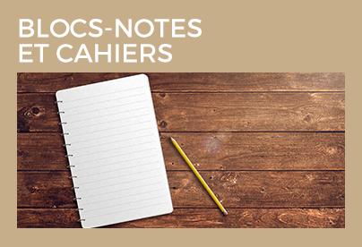 Blocs-Notes et Cahiers