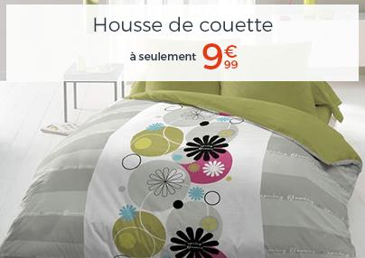 HOUSSE DE COUETTE A 9.99€