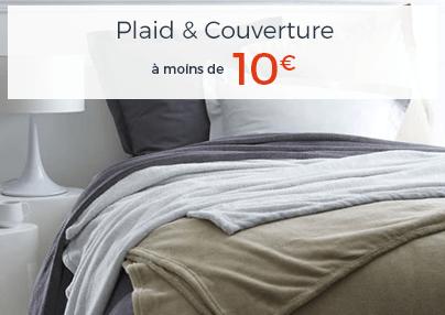 PLAID A MOINS DE 10€