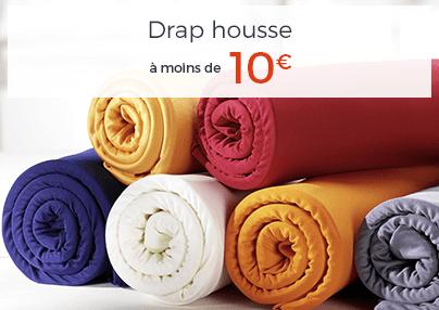 DRAP HOUSSE A MOINS DE 10€