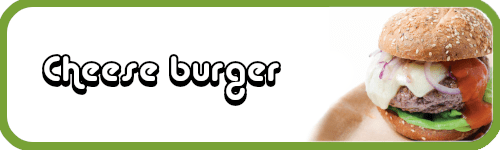 recette cheese burger