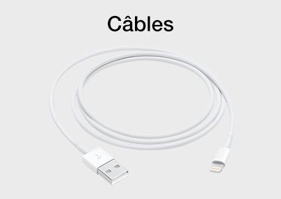 Câbles iPhone