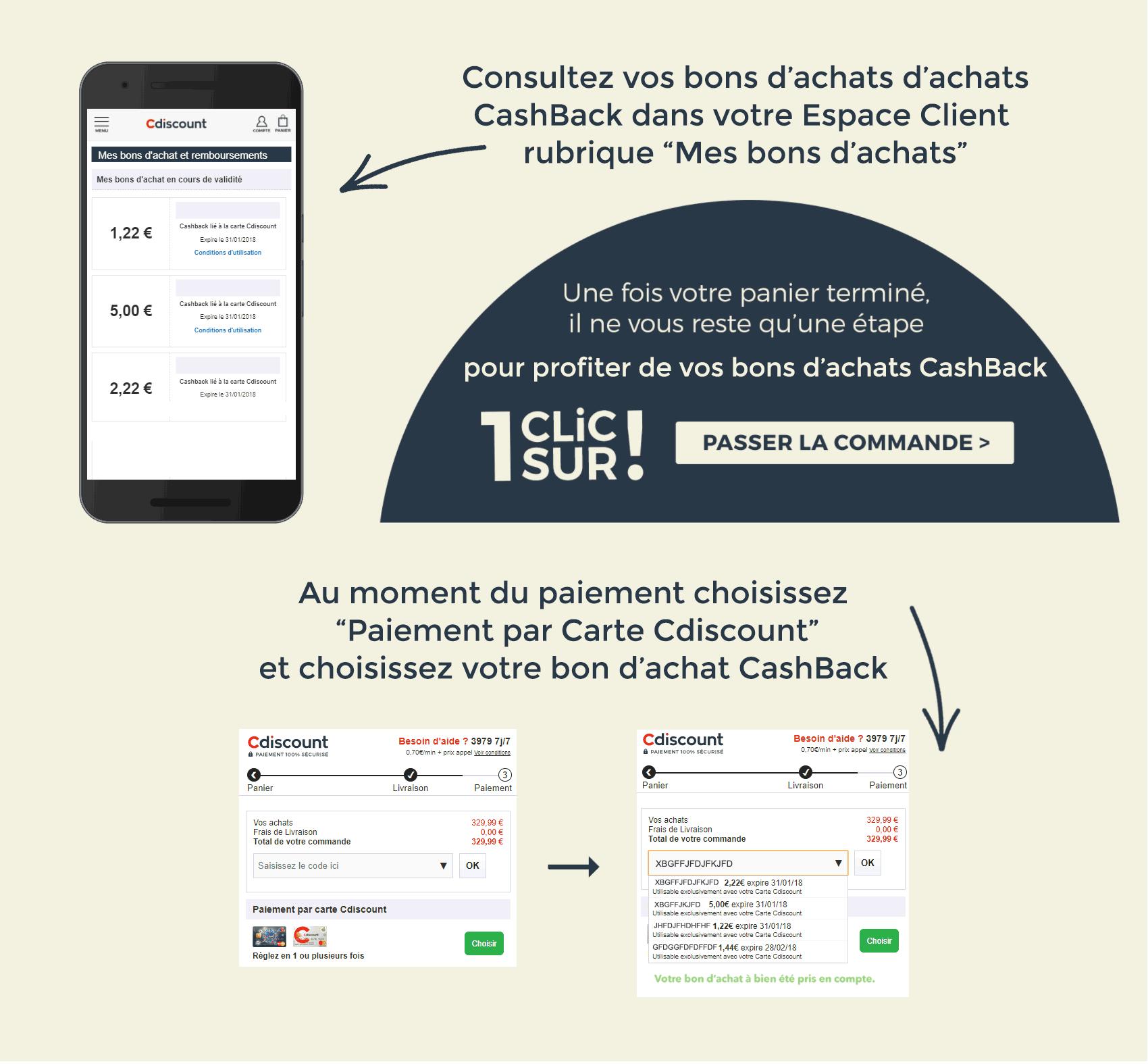 Carte Cdiscount Ou Lutiliser.Cashback Carte Cdiscount Cumulez Des Euros